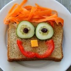 Усмихнати сандвичи за детски рожден ден