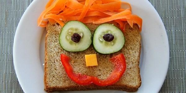 Детски усмихнати сандвичи