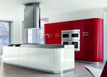 Cucina Moderna Rossa | Cucine Moderne Rosse Idee Di Design Per La ...