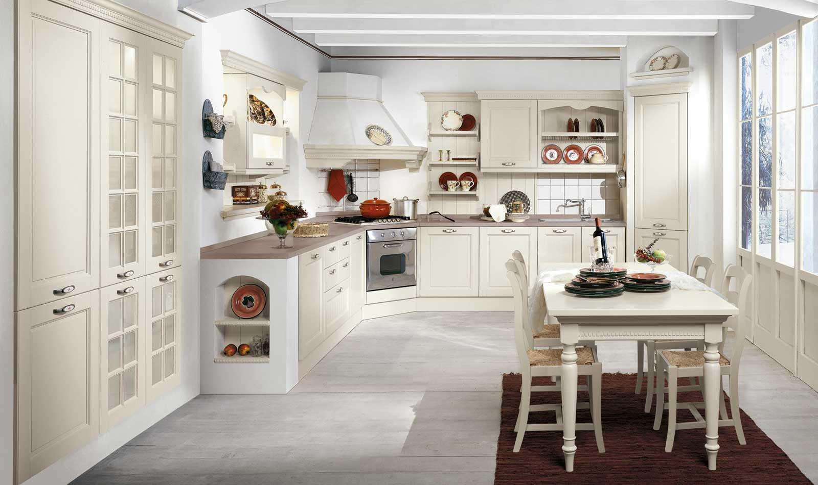Cucina Classica Bianca | Cucine Classiche Evo Cucine