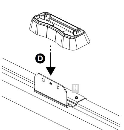 Barras de techo Hyundai i30 5p (puntos de fijación) 2007