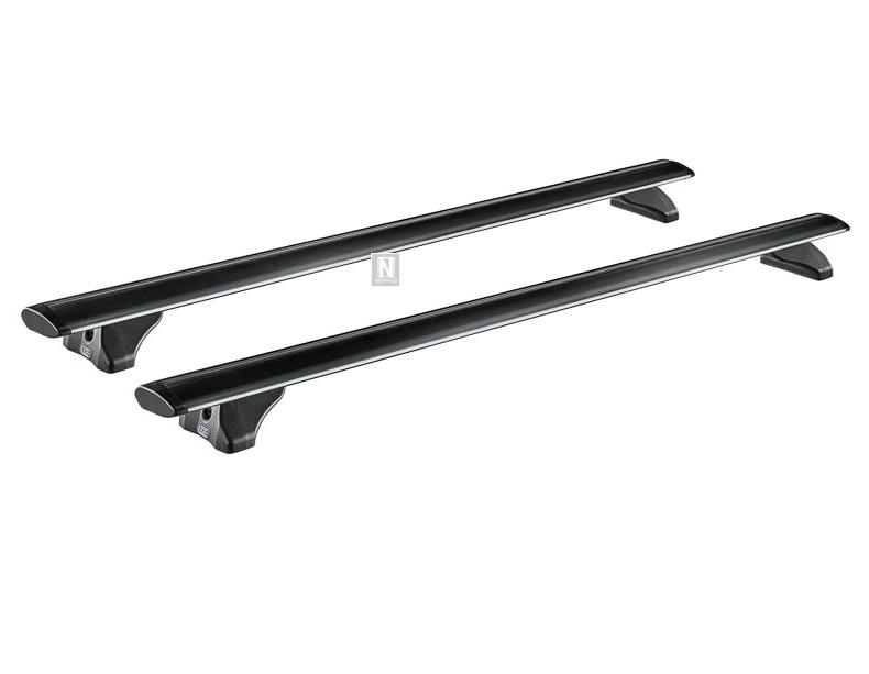 2 Barras portaequipajes de techo Cruz Airo Fix Dark 108