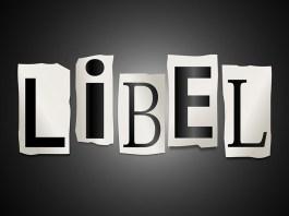 crime of libel