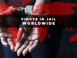 pinoys in jail worldwide