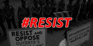 Resist Martial Law