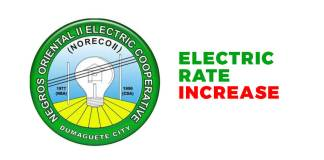 Noreco 2 Electric Rate Increase