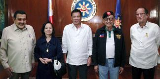 The Living Philippine Presidents