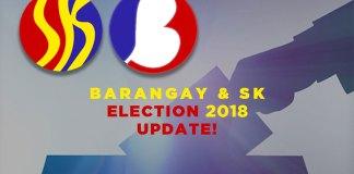 barangay election postponed