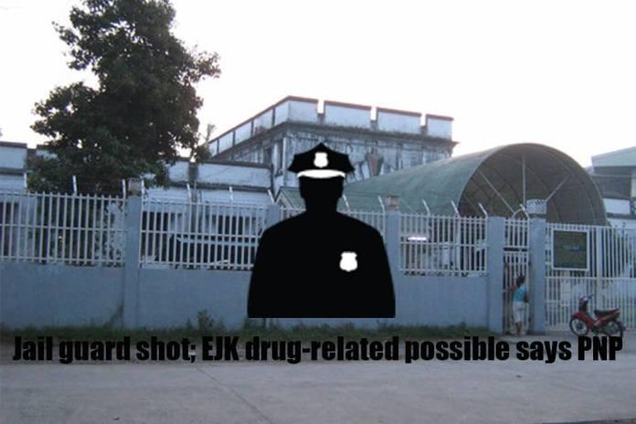 jail guard shot
