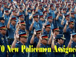 70 New Policemen Assigned