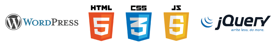 HTML5 CSS3 Javascript JQuery PHP