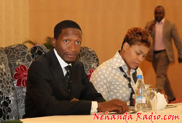 Uebert Angel and wife Beverly