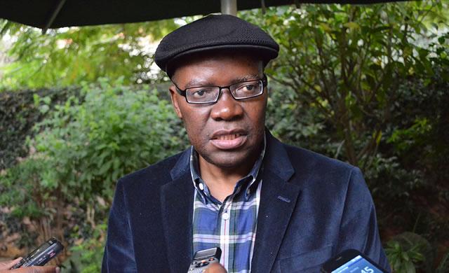 Former Finance Minister and current MDC Renewal Team secretary general Tendai Biti