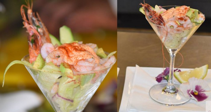 Prawn and Avocado cocktail by Chef Genias