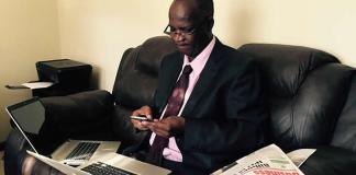 Higher and Tertiary Education Minister Professor Jonathan Moyo