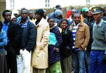 File picture of voting in Zimbabwe