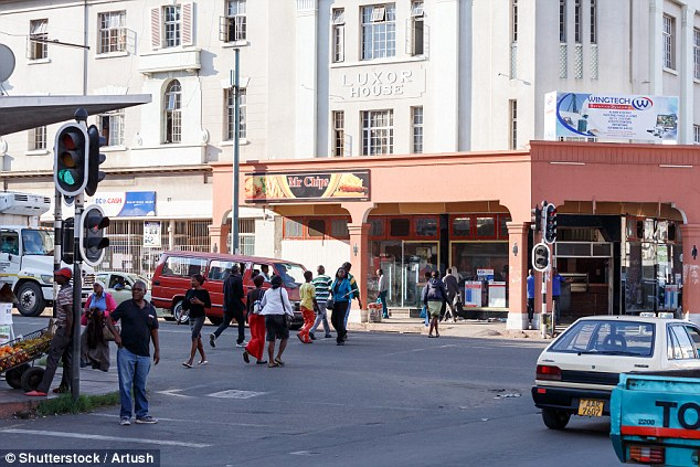 File picture of Bulawayo city centre