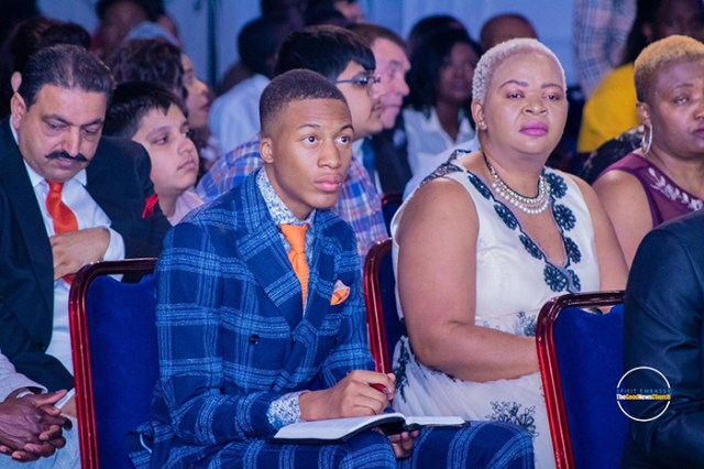 He is only 15 years old, commands 37 000 followers on Instagram and 20 000 on Twitter. He is already addressing thousands of congregants in mega-churches around the world. Uebert Angel Junior, the son of Prophet Uebert Angel is literally walking in his father's footsteps.
