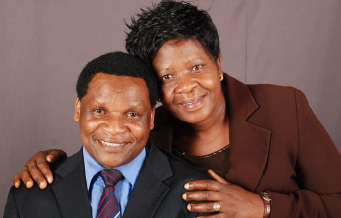 A senior pastor with Upper Room Ministries, Reverend Berry Dambaza (left) seen here with his wife