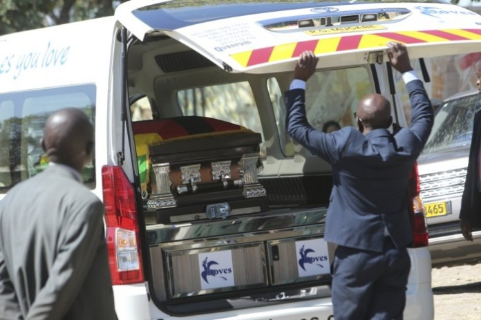 Mugabe feared body parts could be used for ritual