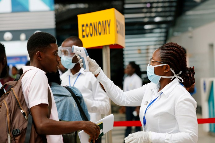 High alert ... Many African nations ae nervous about a little-known virus breaching their borders with passenger screening taking place at airports and other ports of entry