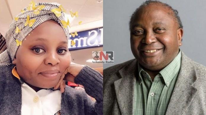 Thandi Matho Thobela and Dr Paul Matewele