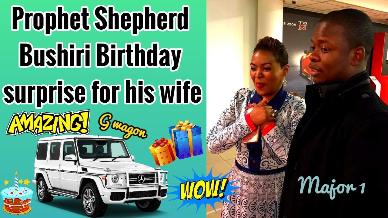 WATCH Prophet Bushiri Commanding Husband To Call Wife