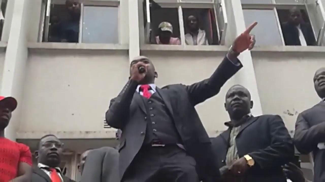 Nelson Chamisa on Elias Mudzuri and Thokozani Khupe  Nehanda TV