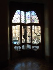 A window inside Casa Batllo