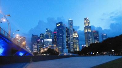 City Skyline from Marina Bay