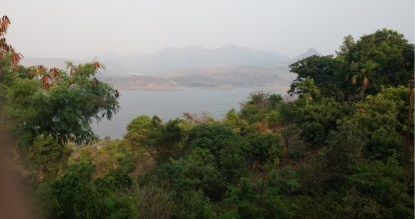 Pavana Lake, as seen from the Lobby