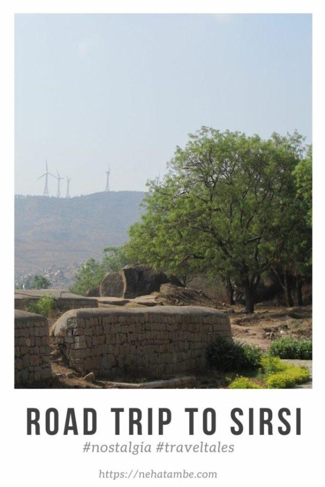 Road trip to Sirsi, Karnataka from Pune