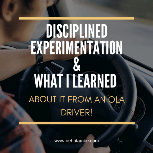 An article about disciplined experimentation and how it is useful for small businesses and start-ups