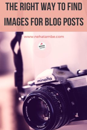 The right way to Find images for blog posts and a list of copyright free images