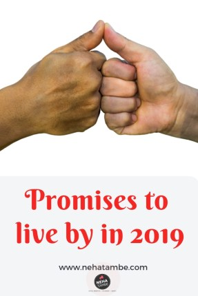 New year resolutions for 2019