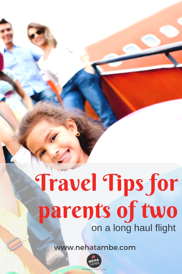 Travel tips for parents taking their children on a long flight