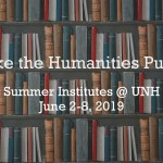 Take the Humanities Public flyer