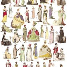 """""""Fashion Plates 1806-1820"""""""