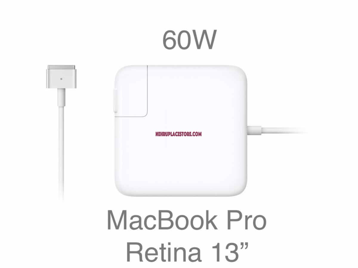 A1435 60W MagSafe 2 Power Adapter for Apple Macbook Pro