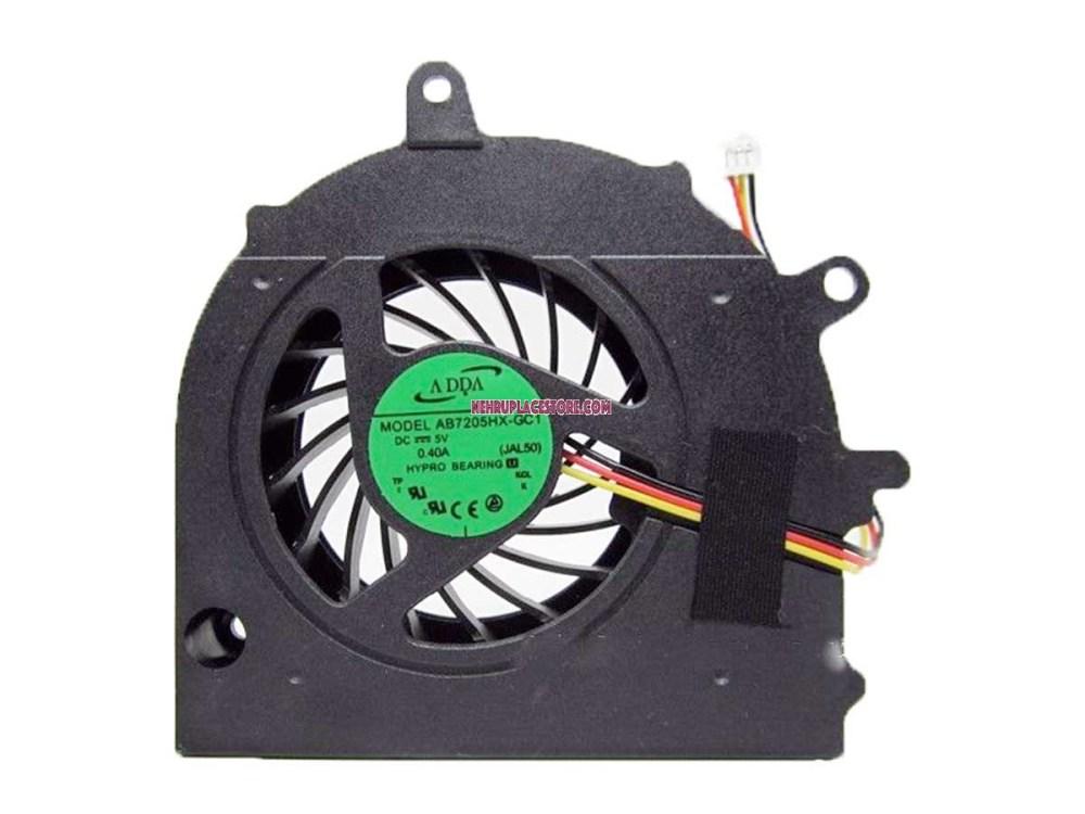 medium resolution of toshiba satellite a500 laptop cpu cooling fan ab7005hx sb3 fan for toshiba laptop wiring diagram