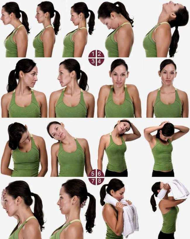 Exerciții de gât