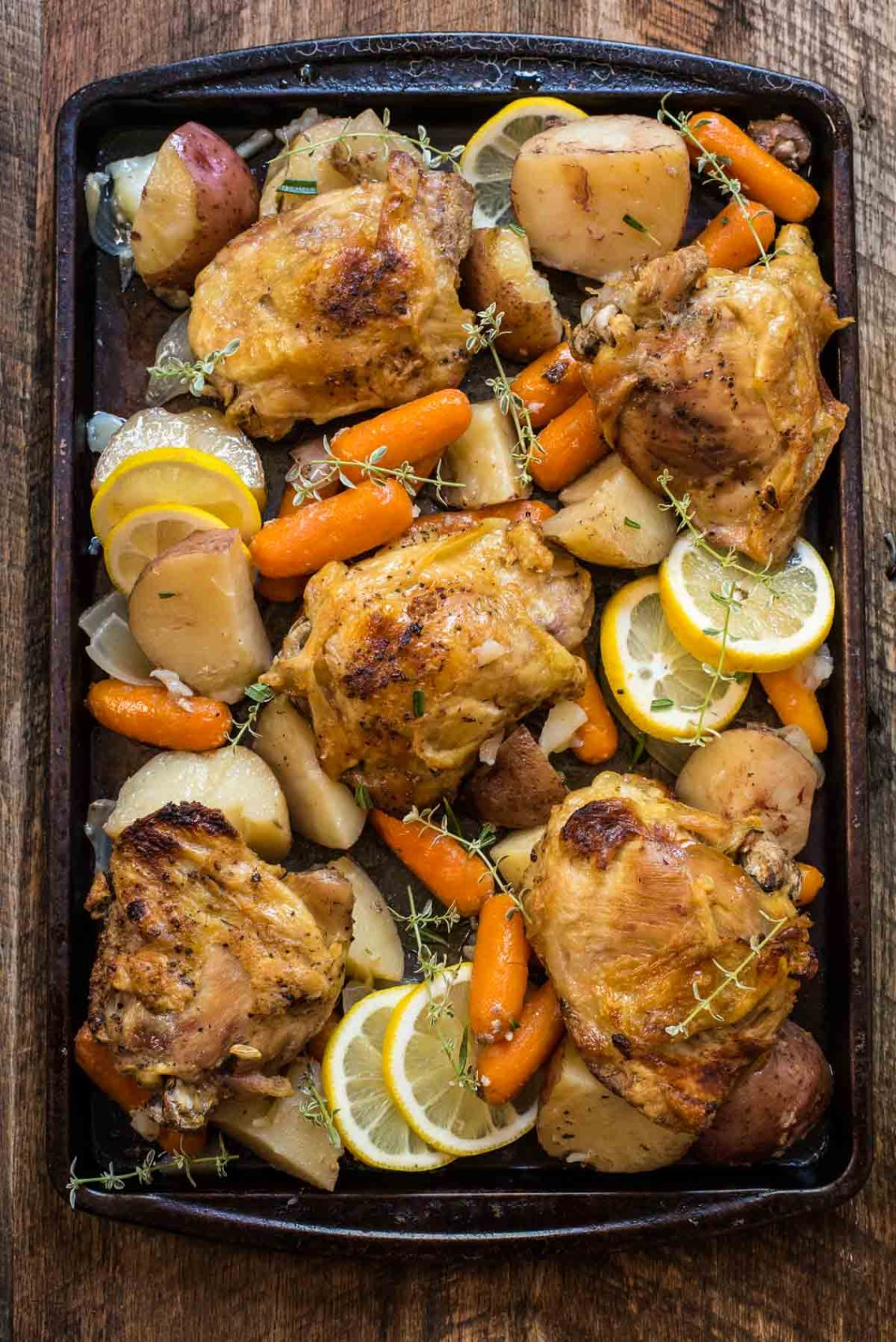 Crock Pot Lemon Garlic Chicken   NeighborFood