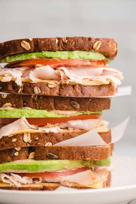 Image result for Turkey Avocado + Radish Sandwich