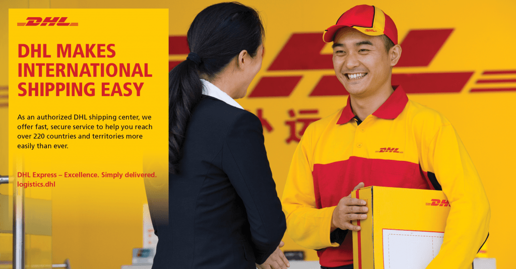 DHL shipping To India