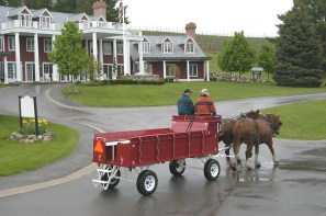 Black Star Farms in Suttons Bay is the home of the Grand Red Inn.
