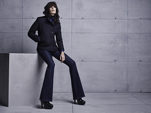 """Citizens of Humanity high-waist Fleetwood flares, $228, are the """"it"""" jeans for fall at Caruso Caruso in downtown Birmingham."""