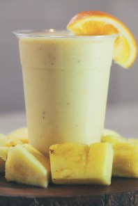 A Creamsicle smoothie from Naked Fuel.