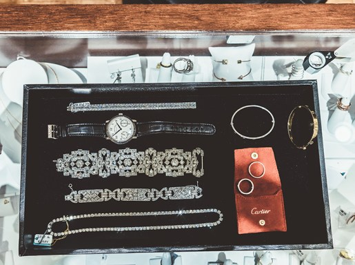 Wachler Estate Collection features vintage and estate pieces as well as fine jewelry.