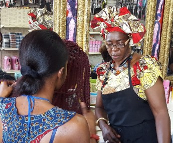 Weaving culture, beauty and business: Fallous African