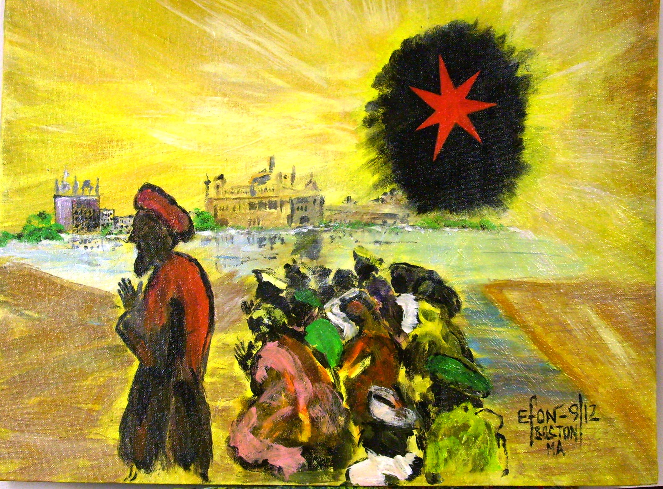 "Cameroonian artist presents ""Celebration"""